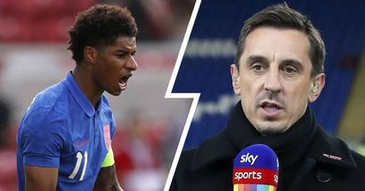 'Not a surprise': Gary Neville reflects on Rashford's omission from England's starting XI vs Croatia