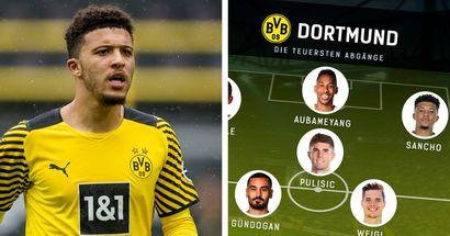 500 Mio. Euro für 11 Spieler! Top-Elf der teuersten BVB-Abgänge!