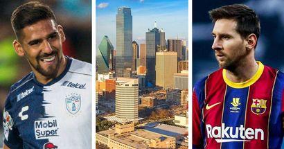 'If Messi came to MLS, I would kiss his feet': Dallas forward Franco Jara