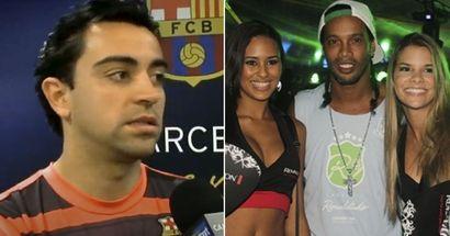 """""""Quand votre niveau baissera, les couteaux seront sortis"""": ce que Xavi a dit sur le style de vie de """"fêtard"""" de Ronaldinho"""