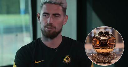 Jorginho opens up on football dream, describes Ballon d'Or nomination in one word