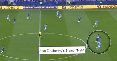 """ManCity-Verteidiger Zinchenko wurde für die """"faule"""" Verteidigung im Champions-League-Finale kritisiert"""