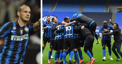 """""""Anche noi del 2010 abbiamo festeggiato questo scudetto"""", Sneijder celebra l'Inter e svela chi lo ha impressionato di più"""