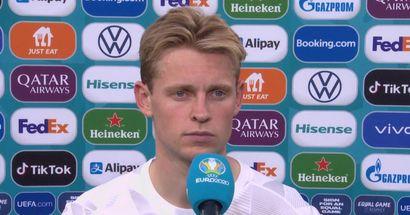 Frenkie de Jong brise le silence sur l'élimination des Pays-Bas de l'Euro 2020