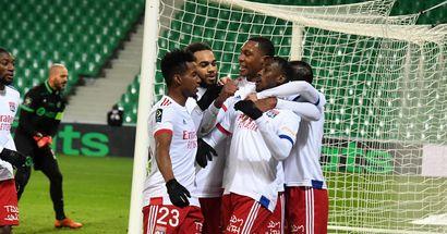 Derby gagné face à Saint Etienne, Lyon revient à deux points du PSG en Ligue 1
