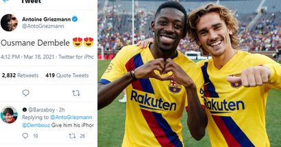 Good guy Griezmann: Antoine happy to have Dembele back in France squad