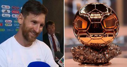 """Lionel Messi nennt 4 Spieler, die es verdienen, den Ballon d'Or 2021 zu gewinnen: """"Ich werde gerne für sie stimmen"""""""