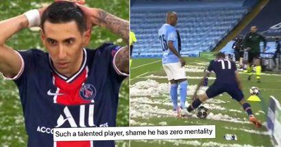 Enthüllt: Was Di Maria zu Fernandinho sagte, nachdem er für ein brutales Foul an ihm die Rote Karte bekam