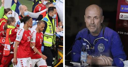 ''Il était parti. Mais nous l'avons récupéré'': le médecin de l'équipe de Danemark explique comment ils ont sauvé la vie de Christian Eriksen