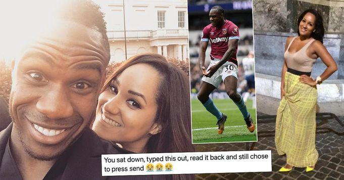 """""""Ich liebe dich mit meinem ganzen S****z"""": West Hams Antonio schickt seiner Frau Valentinstag-Nachricht"""