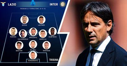 Lazio vs Inter, probabili formazioni e ultime notizie: Lautaro dovrebbe farcela, a dx spazio a Dumfries