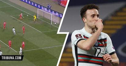 Diogo Jota's excellent run and header for his first goal against Serbia deserve a closer look