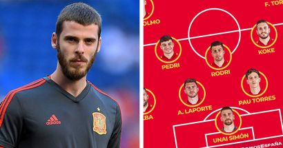 'He has now hit rock bottom': United fans react as De Gea is dropped by Spain for Euro 2020 opener