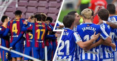Barcelona vs Real Sociedad: line-ups, score predictions, head-to-head record & more — preview