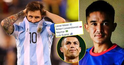Messi's big international record beaten by €200k-rated forward, Cristiano far ahead