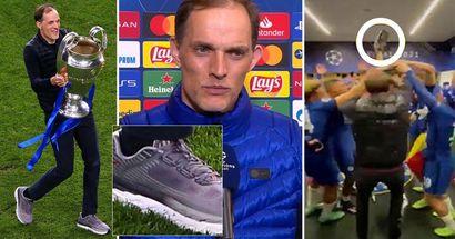 La gran historia detrás de los zapatos de Thomas Tuchel en la final de la Champions League