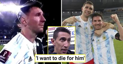 Who is Messi's favourite player in Argentina's national team? Analysed