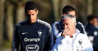 Deschamps defiende a Varane: 'No es el único culpable'
