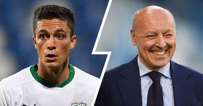 L'Inter studia il colpo Raspadori: Marotta potrebbe aver trovato la chiave per sbloccare l'affare
