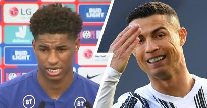 Marcus Rashford on Ronaldo: 'Cristiano is an unbelievable player, it's normal for him to defy odds'
