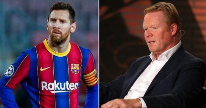 Ronald Koeman: 'Messi has disguised everything. I knew it wasn't good'