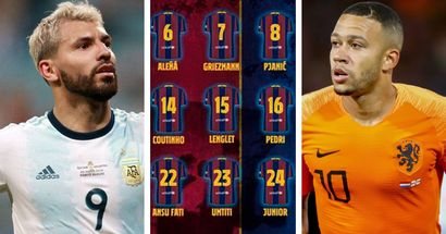 6 'attractive' squad numbers Barca could offer to potential newcomers