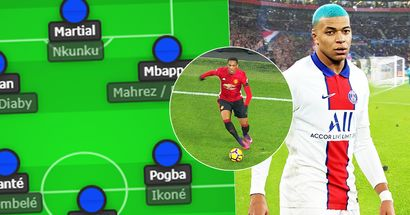 What if Paris was a national team at Euro 2021: incredible starting AND reserve XIs revealed
