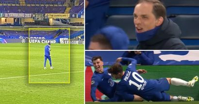 Tuchel let out 'massive roar of joy' on empty Stamford Bridge pitch after Chelsea destroyed Real Madrid