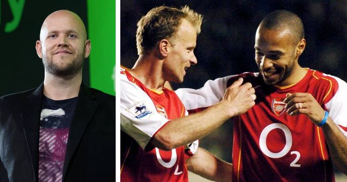 Henry & 2 more Invincibles helping Spotify owner Daniel Ek's in Arsenal takeover: The Telegraph