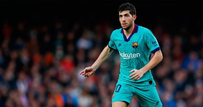 Setien lavishes praise at versatile Sergi Roberto: 'Having this type of players makes things easier'
