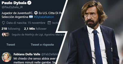 """""""Che senso aveva portarlo a Crotone?"""": Dybala mette un like al commento contro le scelte di Pirlo, e sul web si teme un altro """"caso"""""""
