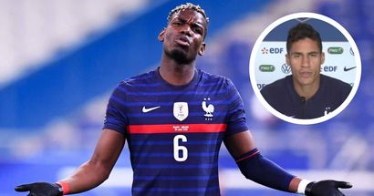 'He's one of our leaders': Raphael Varane tips Paul Pogba to become future France captain