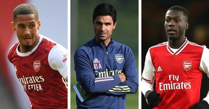 Saliba debut? Pepe return? Choose your Arsenal XI to face Leicester from 2 options!