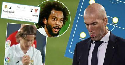 Modric y Marcelo fuera: el potencial Xl del Madrid vs Granada basado en el empate ante el Sevilla