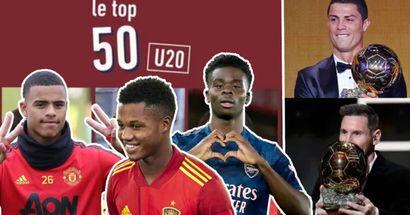 L'Equipe ha nominato i 10 migliori giocatori under 20 - sono il futuro del calcio