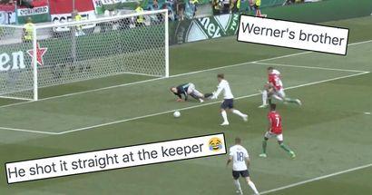 """""""Werner-esque"""": Griezmann manque une incroyable occasion de but contre la Hongrie"""