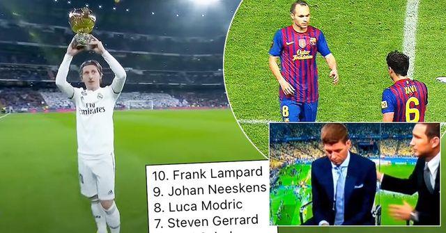 لفتة رائعة من صلاح , أفضل عشر لاعبي وسط تاريخياً ... أبرز ما جاء في أخبار كرة القدم
