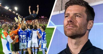 Erster beachtlicher Erfolg in Alonsos Trainerkarriere: Xabi führt Real Sociedad B in die 2. spanische Liga!