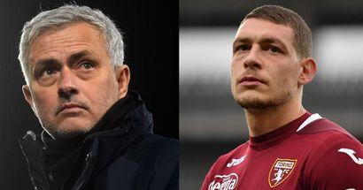 L'eventuale arrivo di Belotti può cambiare il modulo: Mourinho prepara nuove soluzioni per la sua Roma