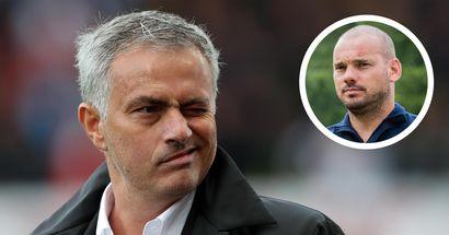 """""""È un allenatore unico"""": Sneijder conosce bene Mourinho ed è ottimista per l'esperienza alla Roma"""