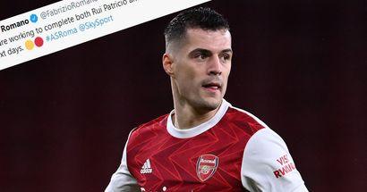Fabrizio Romano provides definitive update on Xhaka to Roma rumours
