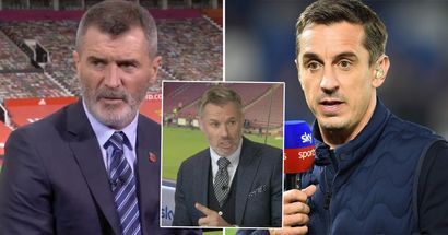 'I'm sick of it': Carragher slams Neville and Keane for making excuses for 'their mate' Solskjaer