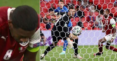 L'erreur de positionnement d'Alaba permet à l'Italie de marquer un but crucial, mais il a réalisé un bon match dans l'ensemble