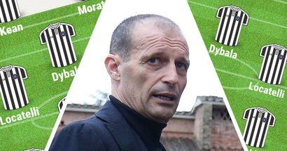 """Come cambierebbe la Juve con la """"rivoluzione"""" Allegri? 3 possibili formazioni se tornasse Max in panchina"""