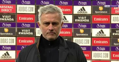 Mourinho: Only Arsenal season ticket holders think it was a penalty