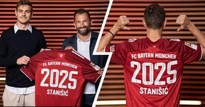 Josip Stanisic hat seinen Vertrag mit dem FC Bayern bis 2025 verlängert - OFFIZIELL