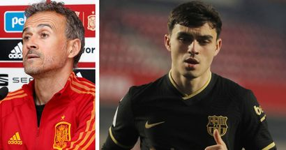 Luis Enrique explains decision to summon Pedri for Spain, says what he likes most about youngster