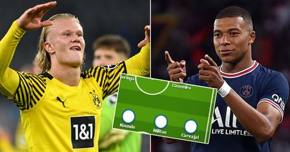 Cómo podría verse el XI del súperequipo del Real Madrid en 2022