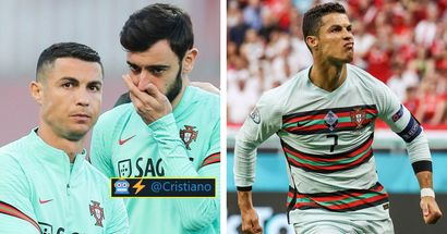 Bruno sends brilliant message to Ronaldo after record-breaking heroics for Portugal