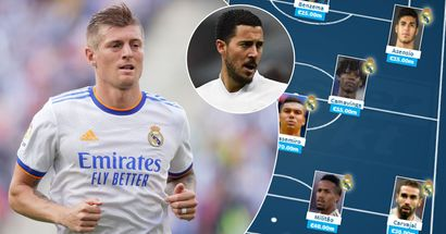 Camavinga walks in, no Kroos: Real Madrid's most expensive possible XI revealed